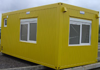 Habitable container for Construction container habitable